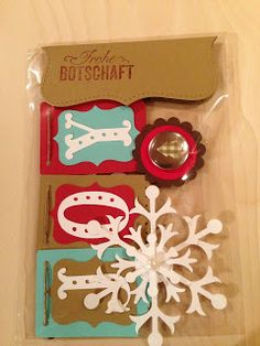 """Heikes Kreativseite: Card Candys zum Thema """" Weihnachten """" Boxed Christmas Cards, Candy Cards, Scrapbook Embellishments, Punch Art, Scrapbooks, Design Elements, Card Making, Paper Crafts, Candies"""