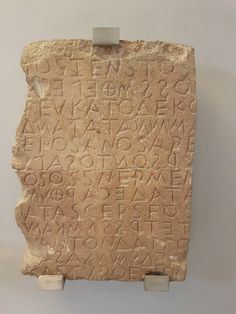 8000 year old Minoan tablet