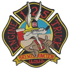 LA COUNTY FIRE DEPT. ENGINE 125 BRENT JUNCTION  (CALIFORNIA)  FIRE PATCH