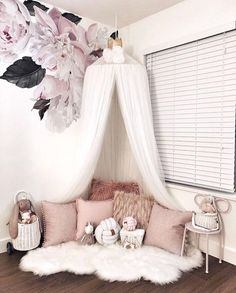 Nook created with our Dreamy canopy and Pom garlands