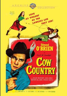 Cow Country - DVD-R (Warner Archive On Demand Region Free) Release Date: Available Now (Amazon U.S.)