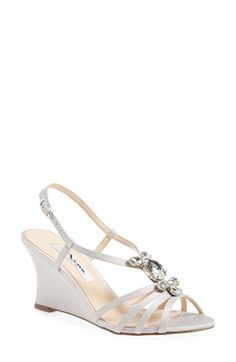Nina 'Mineola' Wedge Sandal (Women) available at #Nordstrom