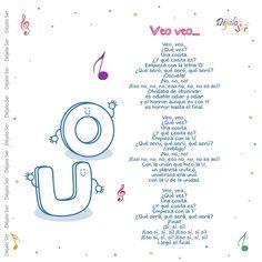 Preschool Songs, Preschool Class, Preschool At Home, Kids Songs, Kindergarten, Infant Activities, Activities For Kids, Circle Time Songs, Phonics Song