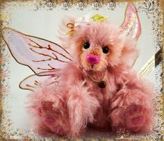 OOAK handmade mohair bear by SallyannBears on Etsy, $50.00