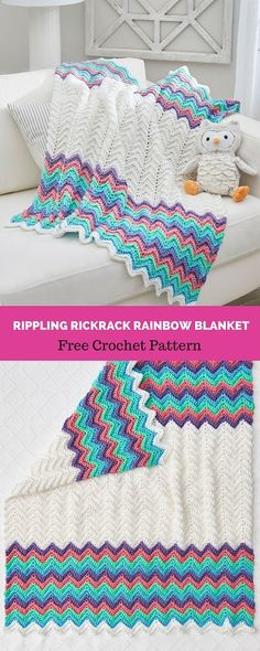 70 Best Crochet Baby Blanket Patterns Images On Pinterest In 2018