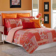 Marchia 3-piece Cotton Quilt Set by Fiesta
