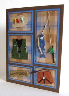 Kara Lynne's Card Designs: Gone Fishing