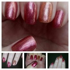 Gelish Sizzling Summer Nights collection.  Maybe summer but looks like Fall!