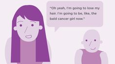 """Many of my breast cancer buddies have told me that their immediate reaction to being diagnosed was """"Am I going to lose my hair?"""" first, and """"Am I going to die?"""" second."""