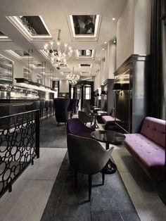 Balthazar Champagne Bar at Hotel d'Angleterre in Copenhagen, Denmark. © La Maison Gray - See more at: http://theartofplating.com/editorial/hotel-dangleterre-fit-for-royalty/#sthash.IKtguS76.dpuf