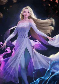 Fantasy Art Finds - Art by phamoz Cute Disney Drawings, Disney Princess Drawings, Disney Princess Frozen, Anime Princess, Elsa Frozen, Elsa Anime, Frozen Fan Art, Frozen Wallpaper, Frozen Pictures