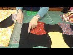 Apple core quilt tutorial by Jenny Doan :)