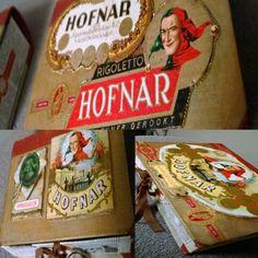 Mummin vuodenajat: altered book