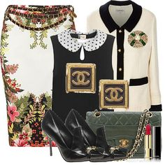 chanel business outfit - Google Search