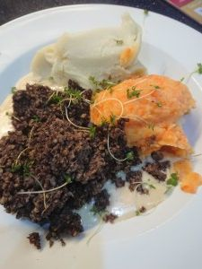 Haggis, neeps and Tatties. Burn's supper at Green Shutters Largs. Green Shutters, Real Food Recipes
