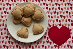 Chocolate Hearts!  YUM  Perfect for #Valentine's Day!