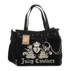 cheap - Cheap Juicy Couture Scottie Tassel Bowknot Handbags - Black -  Wholesale Discount Price Discount Juicy Couture handbags Sale bd4422157d89