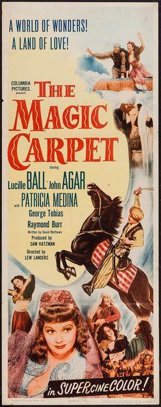 The Magic Carpet (1951) Stars: Lucille Ball, John Agar, Patricia Medina, George Tobias, Raymond Burr ~ Director: Lew Landers