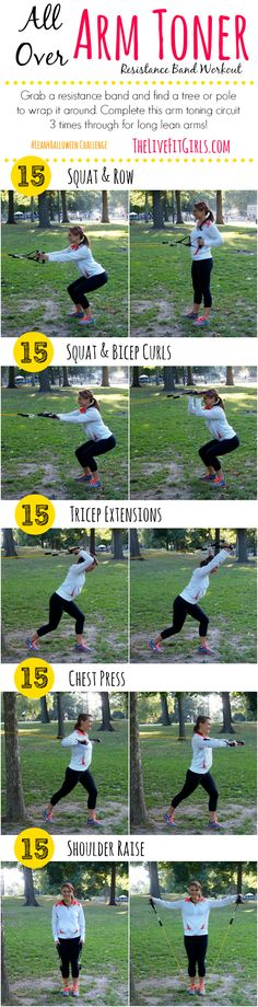 All-Over Arm Toner Resistance Band Workout