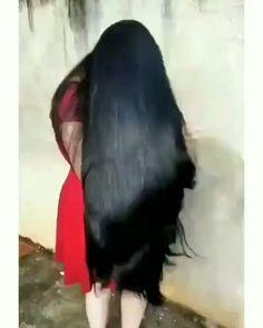 Pump Shampoo to Accelerate Hair Growth Long Silky Hair, Long Dark Hair, Super Long Hair, Black Hair Video, Long Hair Video, Long Indian Hair, Beautiful Long Hair, Gorgeous Hair, Braids For Long Hair