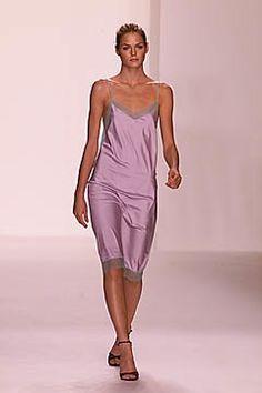 Calvin Klein Collection Spring 2001 Ready-to-Wear Fashion Show - Mini Andén, Calvin Klein