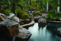 Lagoon Pool looking at spa   Looking at the spa with a strea…   Flickr