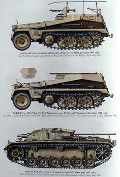 Afrika Korps vehicles