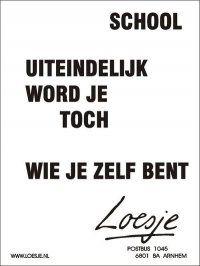 loesje school spreuken loesje | Loesje | Pinterest | School, Words and School quotes loesje school spreuken