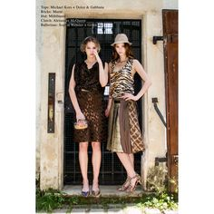 www.mymint-shop.comTops: Michael Kors + Dolce & Gabbana Röcke: Marni Hut: Mühlbauer Clutch: Alexander McQueen Schuhe: Sophia Webster+ Givenchy Model: Natalia B. & Jenny H. Look Models International inc. Fotograf: Francisco Peralta  Make-Up: Sandra Maron