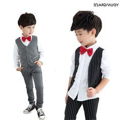 28.49$  Watch here - https://alitems.com/g/1e8d114494b01f4c715516525dc3e8/?i=5&ulp=https%3A%2F%2Fwww.aliexpress.com%2Fitem%2FNew-Design-3Pcs-Formal-Wedding-Striped-Suit-for-Gentle-Boys-Brand-Flower-Boys-Dress-Shirts-with%2F32545218443.html - New Design 3Pcs Formal Wedding Striped Suit for Gentle Boys Brand Flower Boys Dress Shirts with Bow Tie Baby Boy Vest Suit,YC172 28.49$