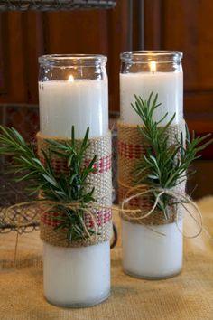 25 Adorable Christmas Candle Ideas