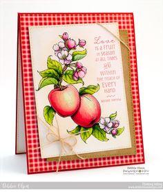 Apples in Season Digital Stamp Set | Power Poppy by Marcella Hawley