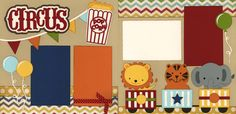 Out on a Limb Scrapbooking Page kits