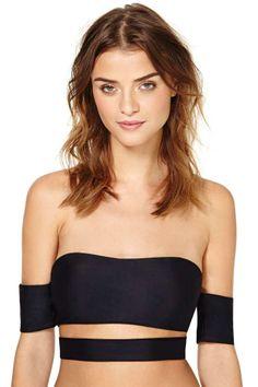 Lolli Borderline Bikini Top