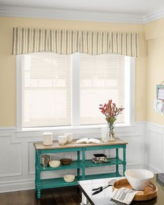 "Hudson Fabric Valance - 15286, Classic 1"" Pleated Shades - 14094"
