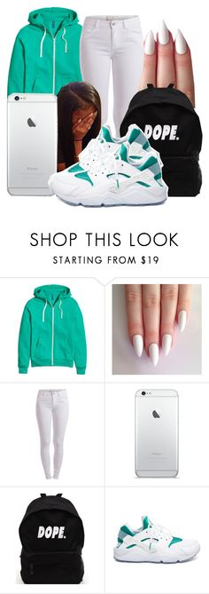 """Untitled #1500"" by honey-cocaine1972 ❤ liked on Polyvore featuring Pieces and NIKE"