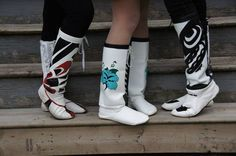boots, Cree Nisga'a Clothing - fyeahindigenousfashion