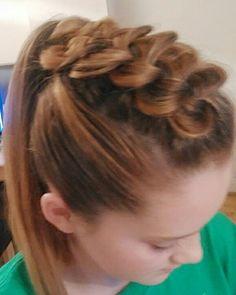 Dutch braid Dutch, Braids, Dreadlocks, Hair Styles, Beauty, Fashion, Beleza, Moda, Dreads