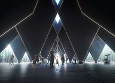 TetraHotel | Visualization for an Unusual Project in the North - ZOA