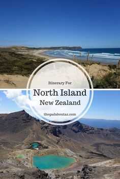 North Island, New Zealand:  Often a once in a lifetime trip, discover where to go and what to do.  You'll also find out what you may want to skip to maximize your time in addition to other helpful tips // http://thegadaboutaz.com