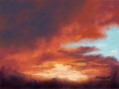 Sunset Painting on Painter Talk
