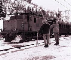 Locomotiva E 554 by Ferrovie dello Stato Italiane, via Flickr