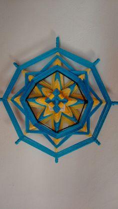 Mandala olho de deus #Mandalaarte #Mandalalay #mandalacolors