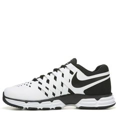 dd89e8524a96 Nike Men s Lunar Fingertrap TR X- Wide Training Shoes (White Black) Nike
