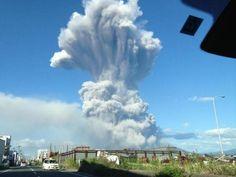 Erutta il vulcano Ontake: il secondo più grande del Sol Levante