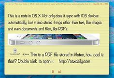 Use Notes as a Super Clipboard to Sync Data Between Macs and iOS Devices