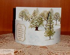 Lovely As A Tree Bendy Card 2 Check out the details on my blog http://www.katespapercreations.com/2014/03/lovely-as-a-tree-bendy-fold-card.html and while you're there check out the blog follower give away for those who subscribe to my blog http://www.katespapercreations.com/2014/01/follow-my-blog-giveaway.html