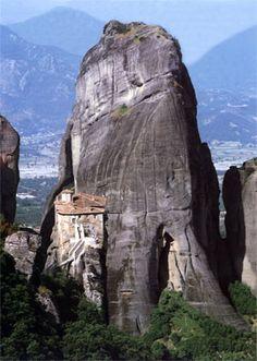 ΜΕΤΕΩΡΑ.ΜΟΝΗ ΡΟΥΣΑΝΟΥ Unusual Facts, Mount Rushmore, Greece, Tourism, Mountains, Nature, Travel, Greece Country, Turismo