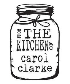 Look at this Black 'From the Kitchen of' Jam Jar Personalized Stamp on #zulily today!