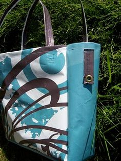 Vinyl Bag made from an old banner
